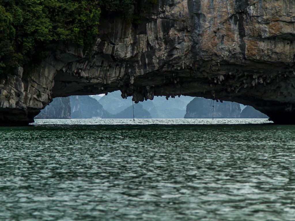 Lime stone bridge