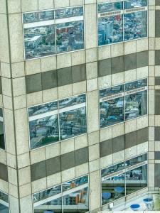 spiegeling Tokyo