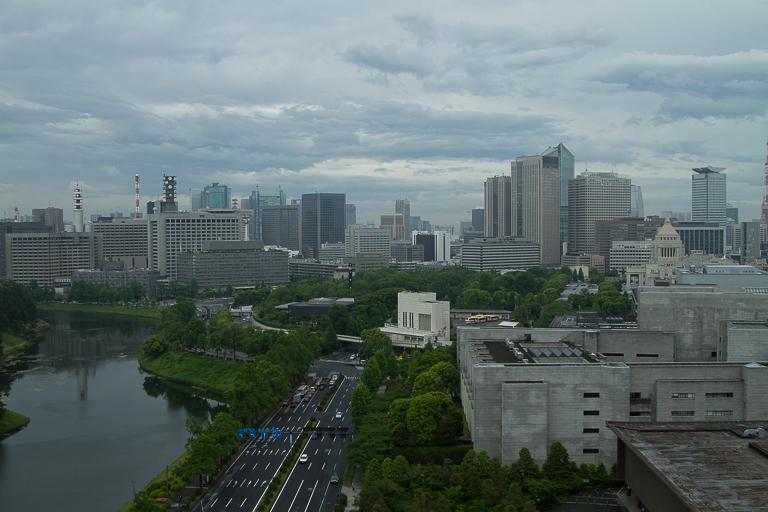 uitzicht vanuit hotel kamer