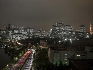 uitzicht uit het hotel