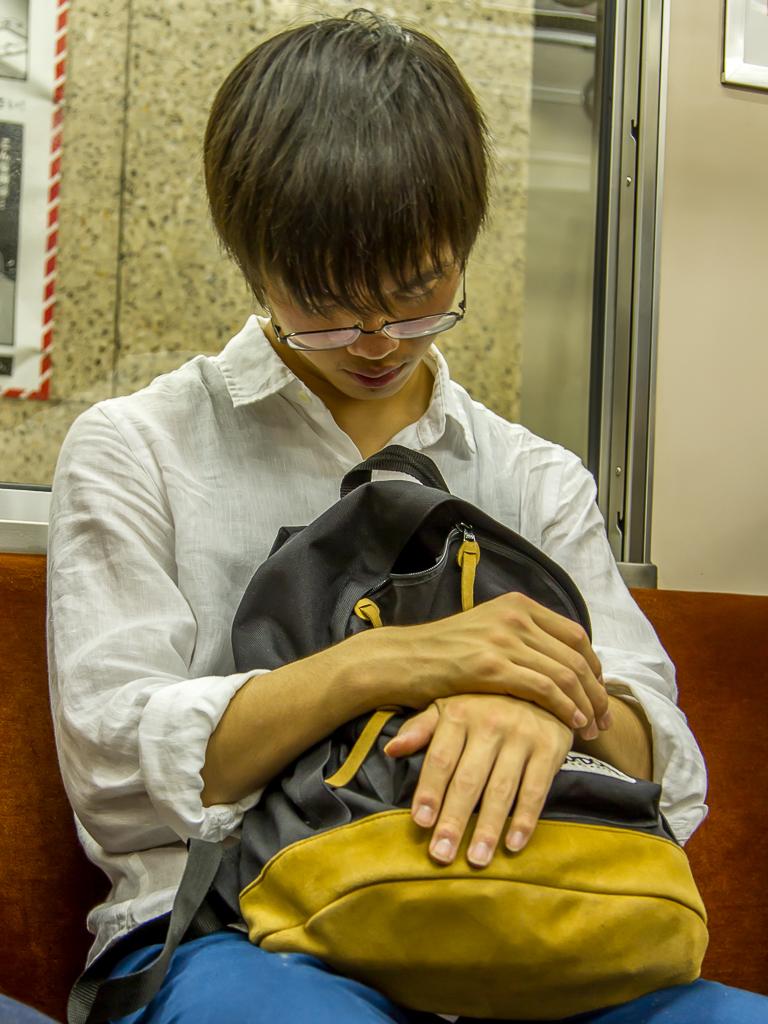 Tokyo, even slapen