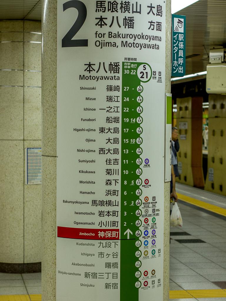 Tokyo metrowijzer
