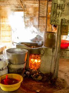rijstnoodle fabriekje
