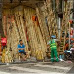 bamboe handelaar